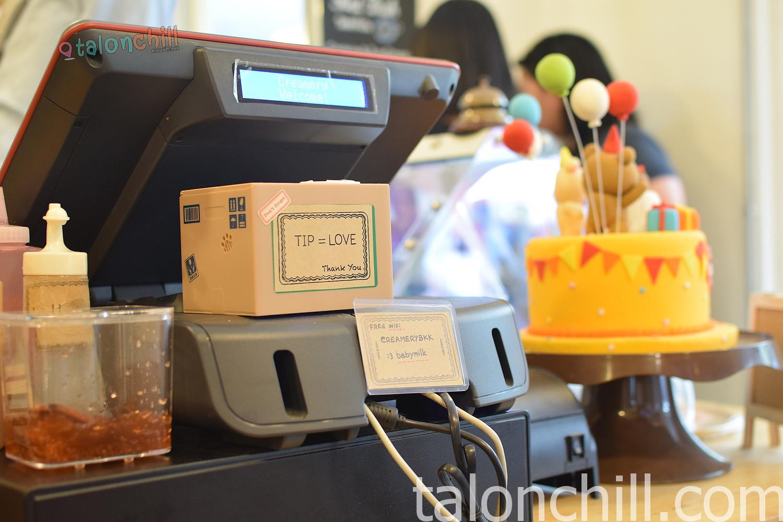 [ตะลอนกิน] คุ๊กกี้โคตรร้อน ร้าน Creamery Boutique Ice Cream สาขาท่ามหาราช