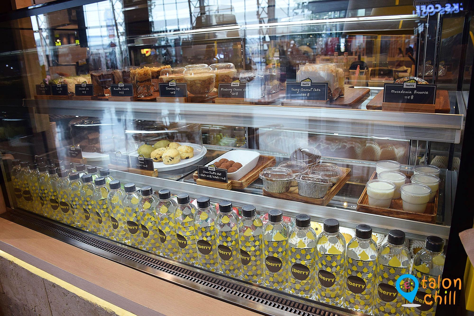 [ตะลุยแหลก] หลบฝนคลายร้อนกับร้าน Iberry Cafe (ไอเบอรี่ คาเฟ่) เซ็นทรัลพลาซ่า เวสเกตต์