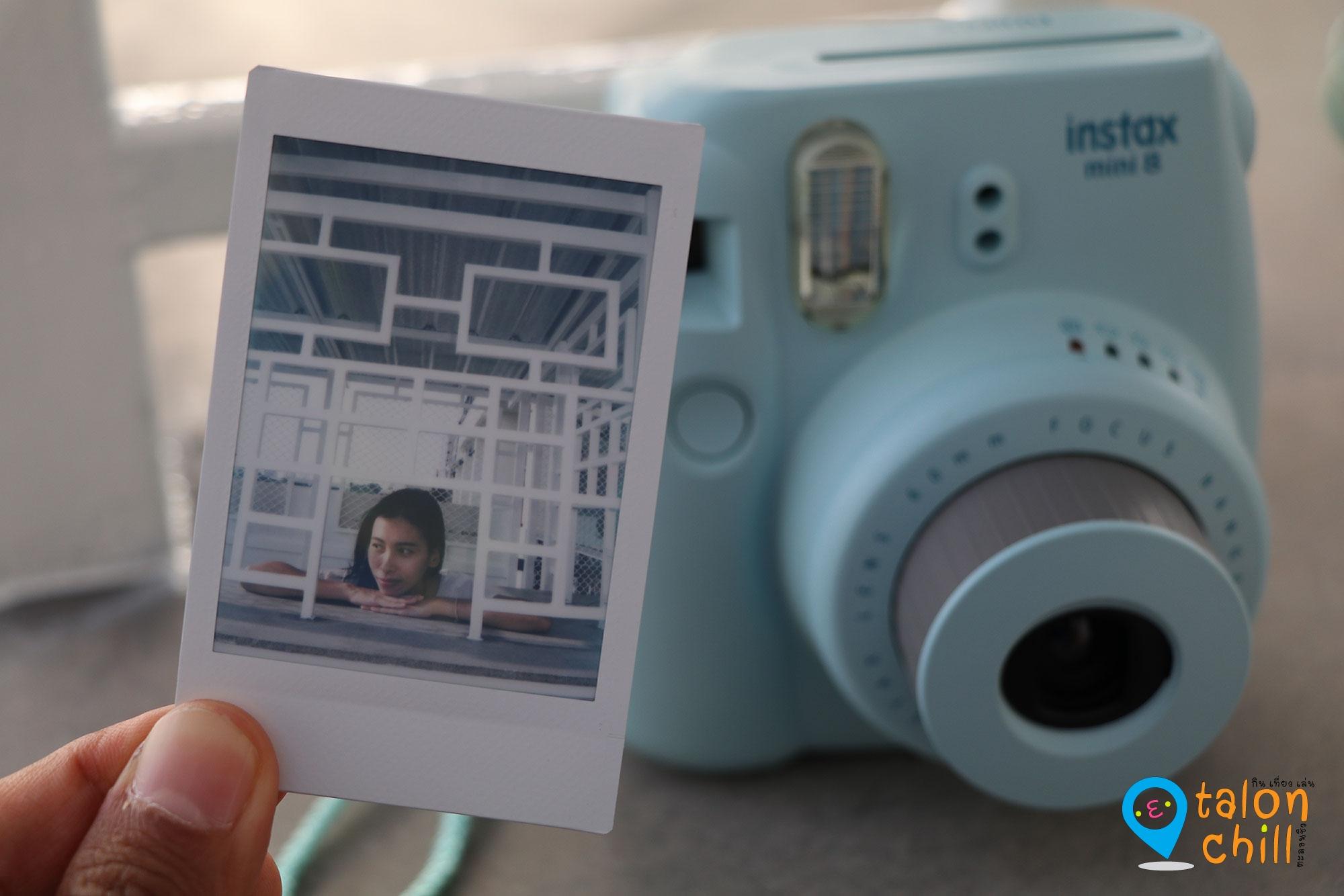 [แกะกล่อง] กล้อง FUJIFILM Instax Mini 8 (กล้องโพลารอยด์)