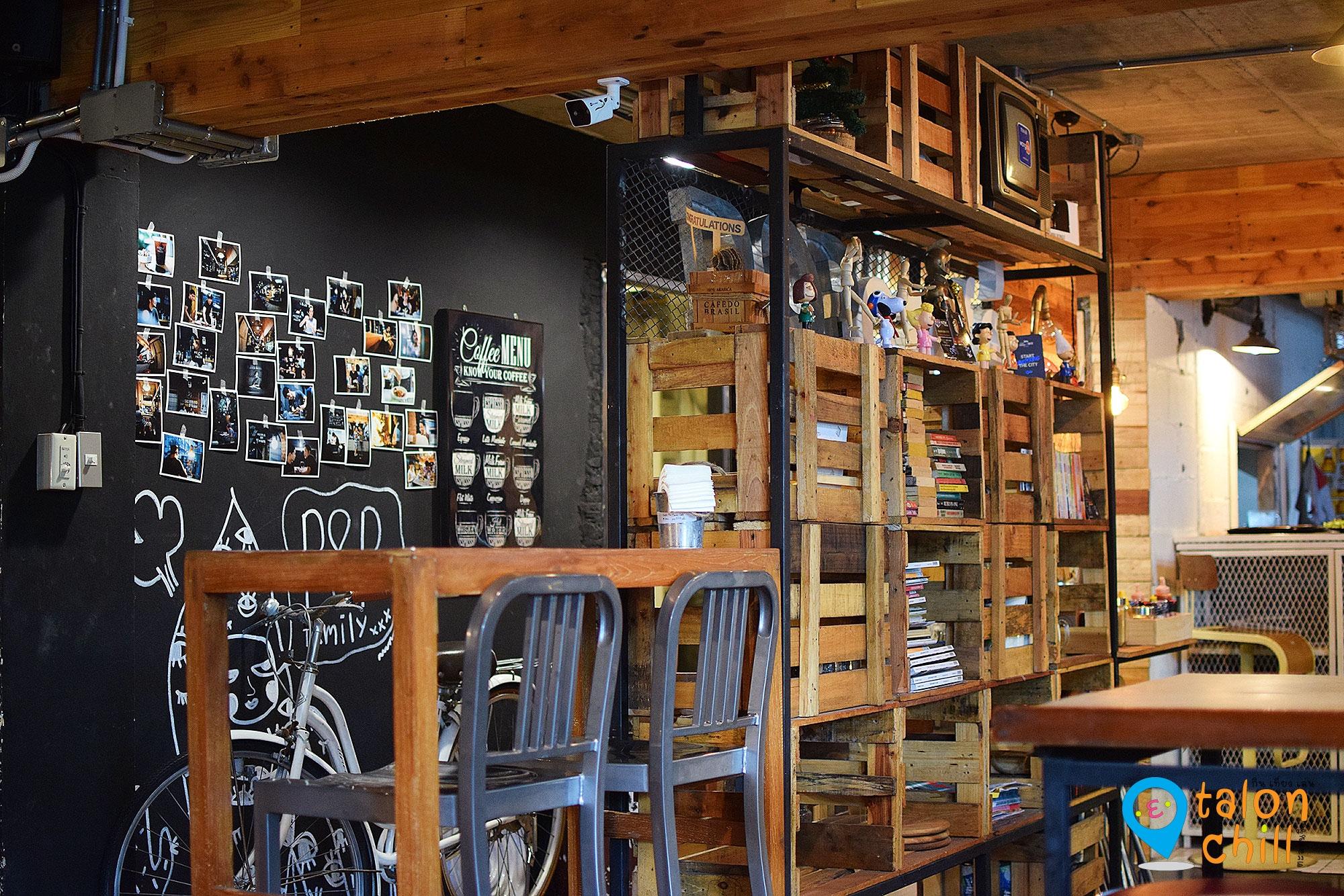[ตะลุยแหลก] People On Pause Cafe' ร้านนั่งชิลย่านลาดพร้าว-วังหิน ซอย 8