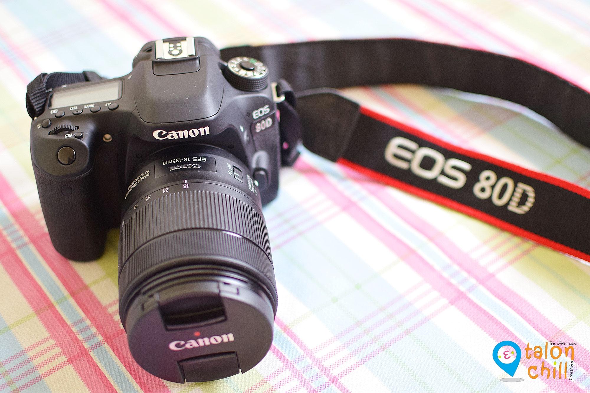 [แกะกล่องรีวิว] กล้อง Canon EOS 80D ฉบับตะลอนชิว