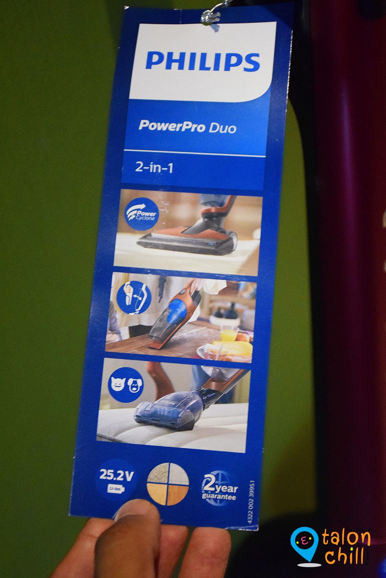 [Review] เครื่องดูดฝุ่นไร้สาย 2 in 1 (Philips PowerPro Duo) ช่วยทำความสะอาดได้อย่างหมดจด #sponsoredreview