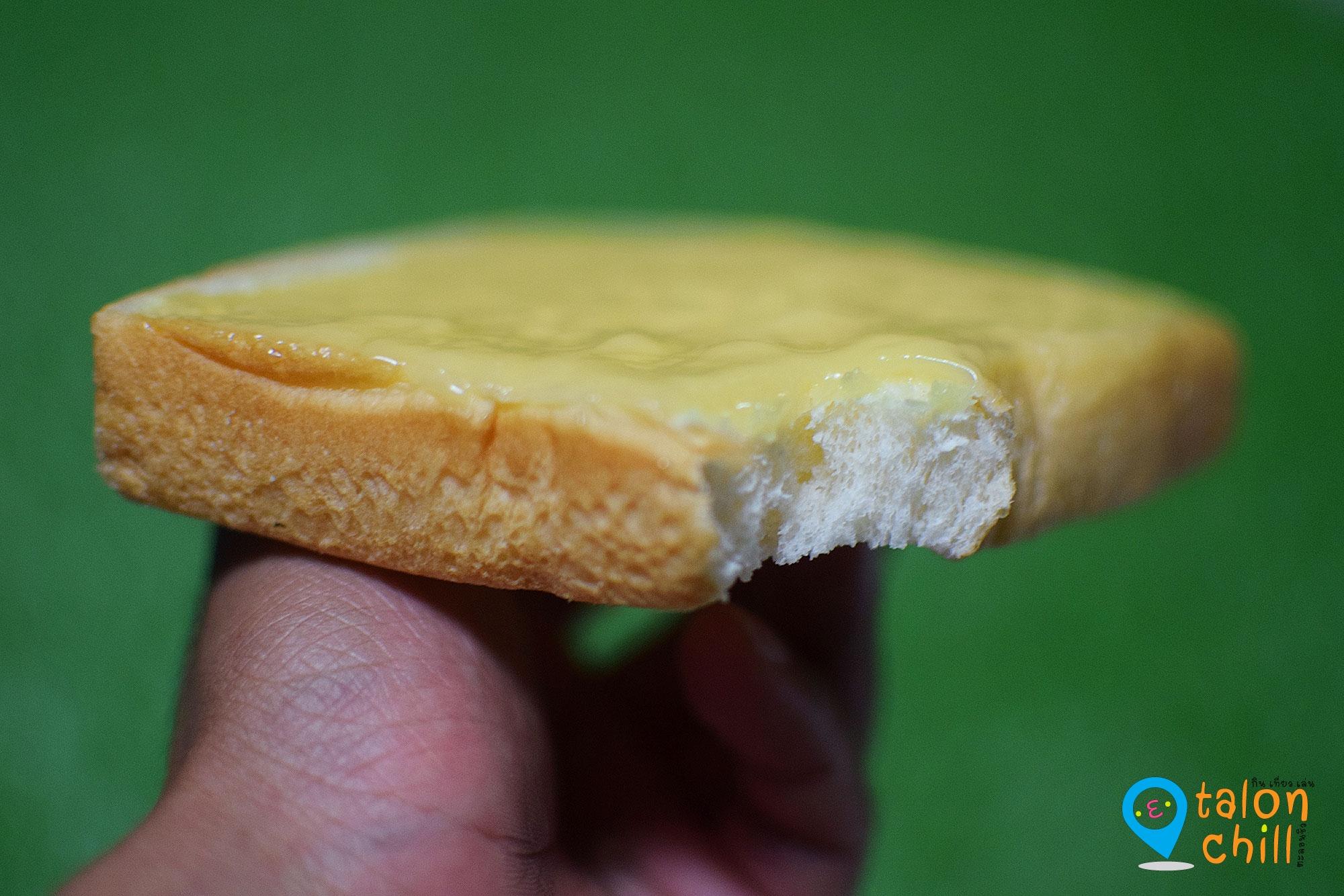 """[มินิรีวิวฟาร์มเฮ้าส์] ขนมปังทาหน้าครีม """"นมข้าวโพด"""""""