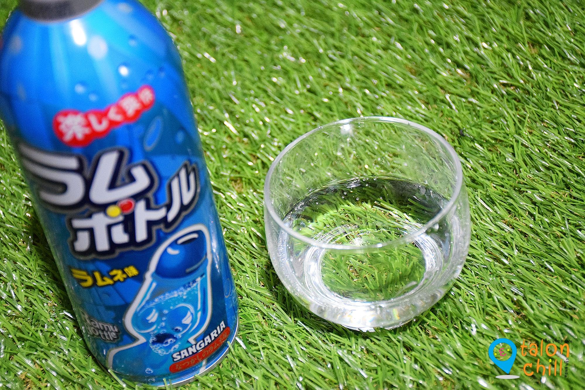 [หนูทดลอง] เครื่องดื่มผสมโซดา รสองุ่นและออริจินอลนำเข้าจากประเทศญี่ปุ่น (Sangaria Ramu Bottle)