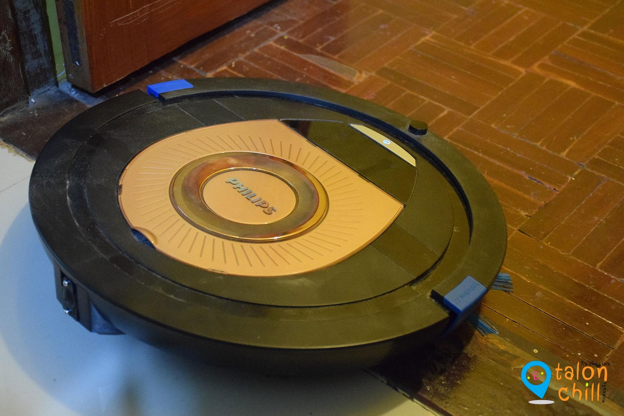 [Review] หุ่นยนต์ดูดฝุ่นอัจฉริยะ FC8776 ทำความสะอาดเร็วขึ้น 2 เท่า by Philips