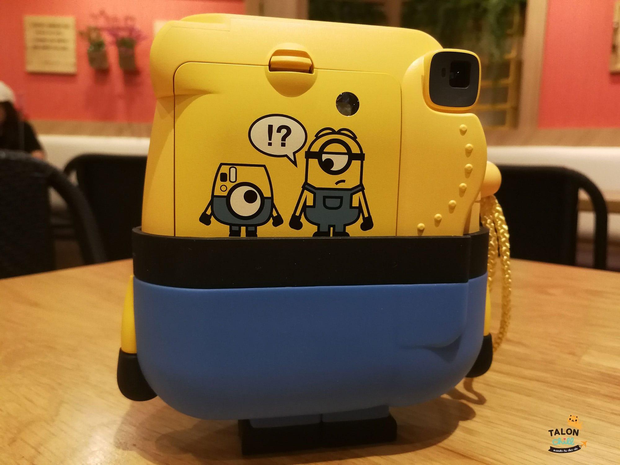 [Review] กล้องโพลารอยด์ลายมินเนี่ยน (Minion Instax mini 8 Instant Film Camera)