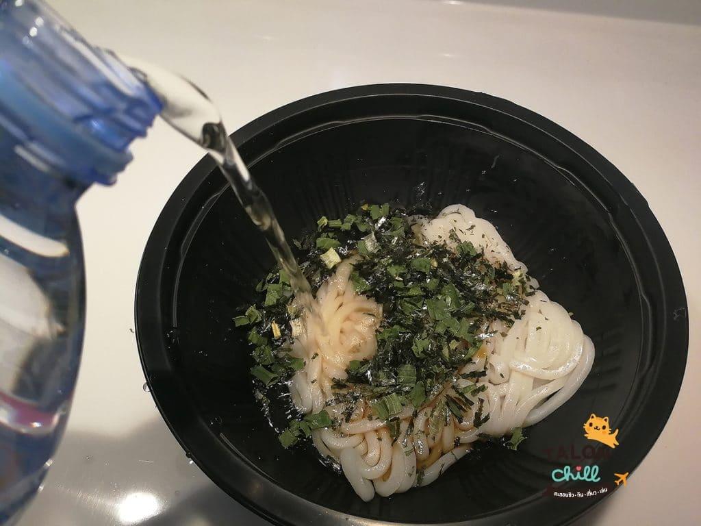 [รีวิว] อูด้งเส้นสดตำรับญี่ปุ่นพร้อมกินทันที รสเทมปุระ ยี่ห้อลัคกี้มี!