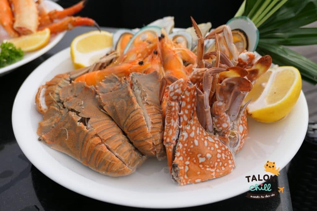 [Review] ห้องอาหารเดอะเทอเรสแอท 72 โรงแรมแม่น้ำรามาดาพลาซ่า