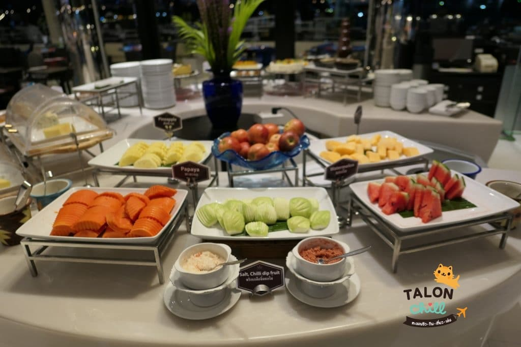 [ตะลอนกิน] ห้องอาหารเดอะเทอเรส แอท72 โรงแรมแม่น้ำรามาดาพลาซ่า 28