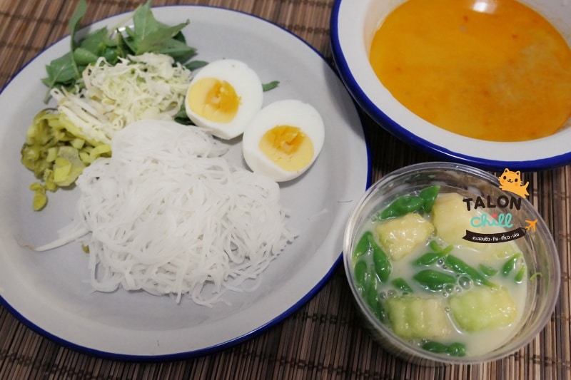 (REVIEW) ขนมจีนบ้านคุณย่า (ขนมจีนบ้านคุณย่า สนามบินน้ำ) นนทบุรี